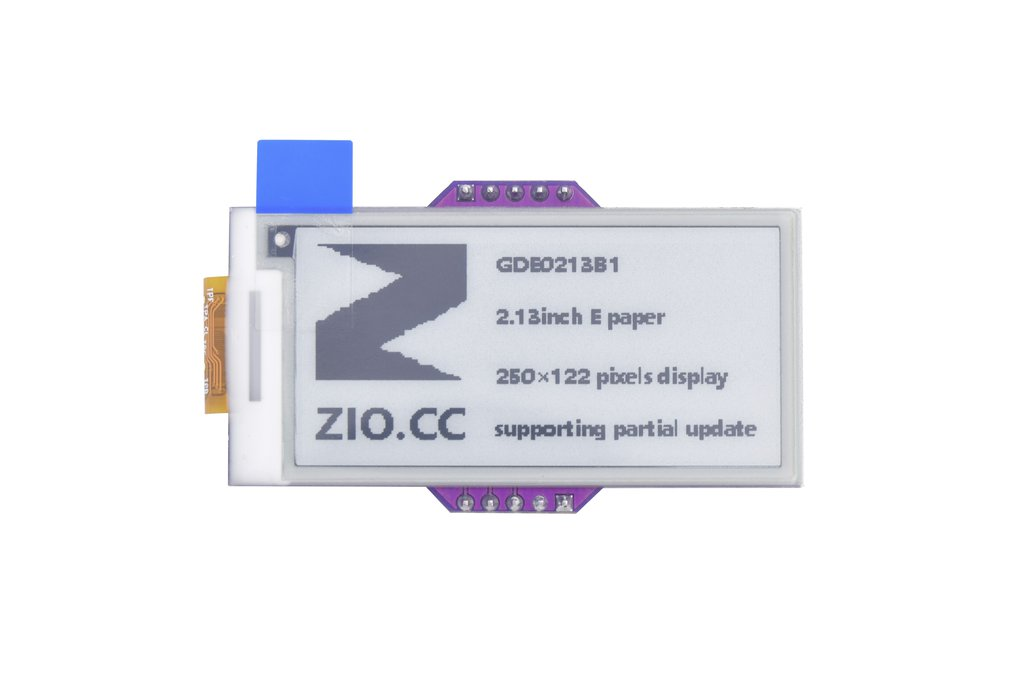 Zio E-Ink Display (2.1in, 2 Grey) 1