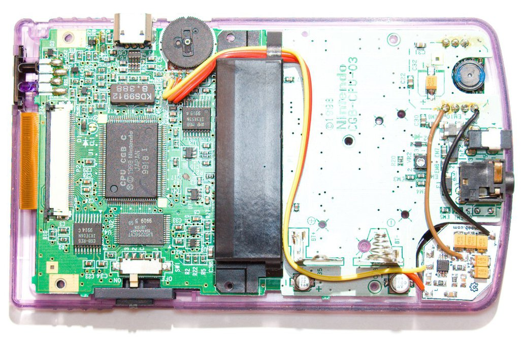 Gameboy Quality Loud Sound Mod PCB 2