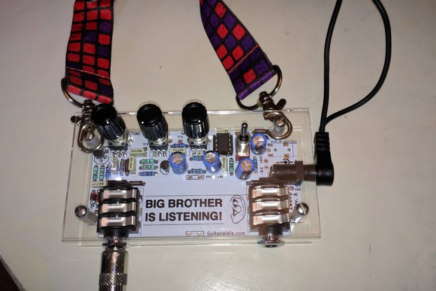 DIY Badge Amplifier Kit