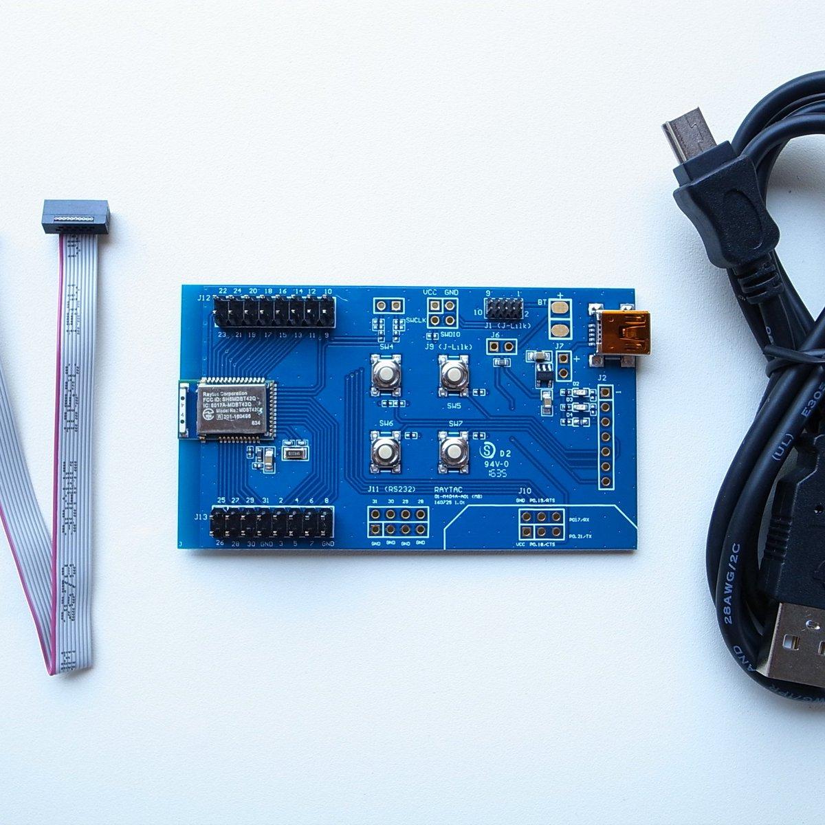 nRF52832 Raytac MDBT42Q Module Demo Board Kit from Nordic