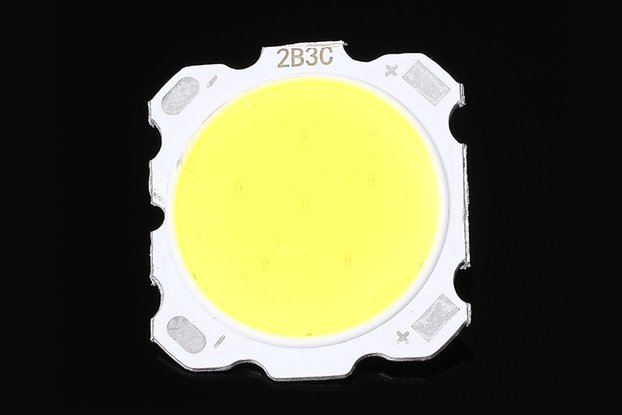 10pcs 3W White COB LED Roundness Light Lamp(12898)