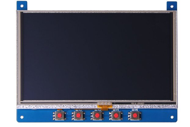 "5.0"" Display for  Arduino and Mbed"