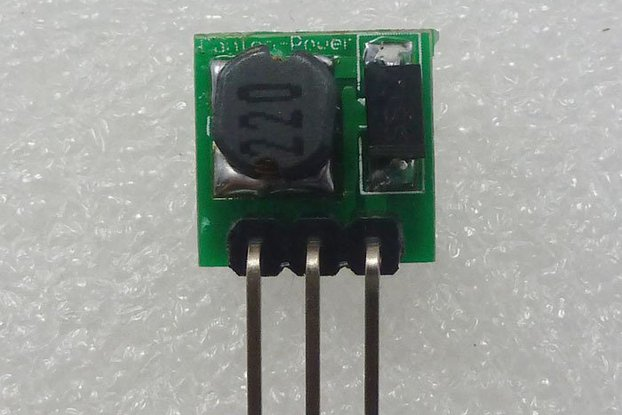 Module DC/DC 0.8-3.3V to DC 3.3V @ 1A or 5V option