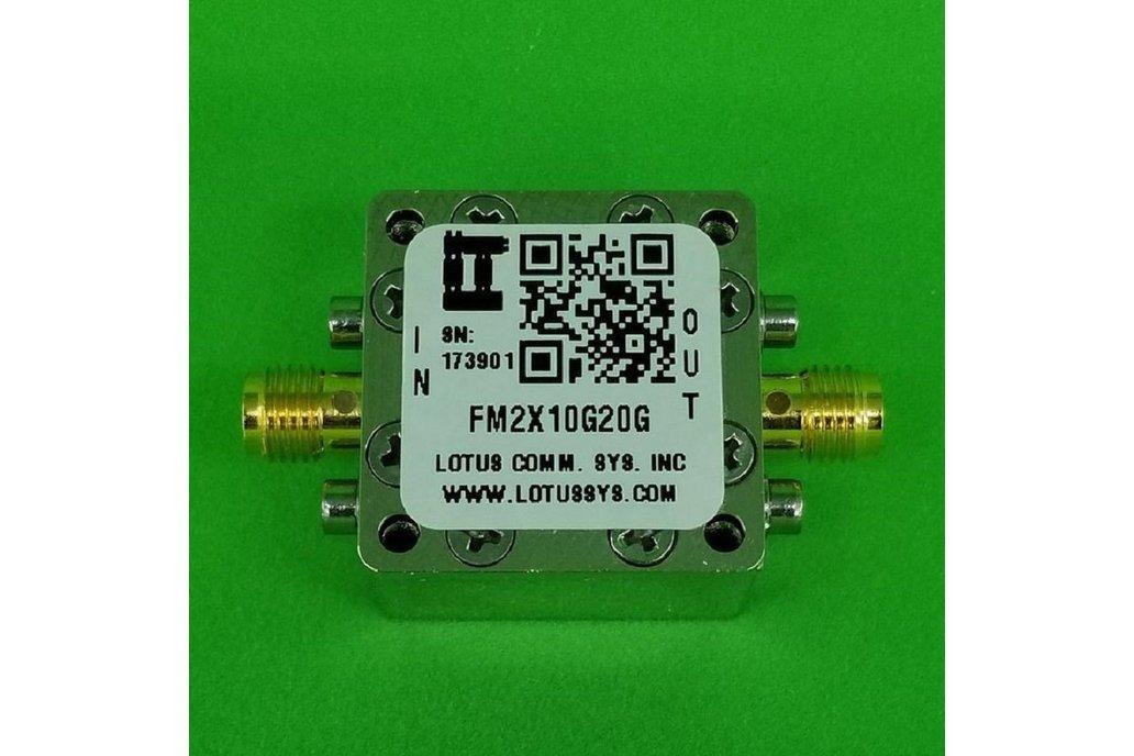 Freq. Multiplier X2 (OUTPUT 10G to 20G Hz) FM2X10G 1
