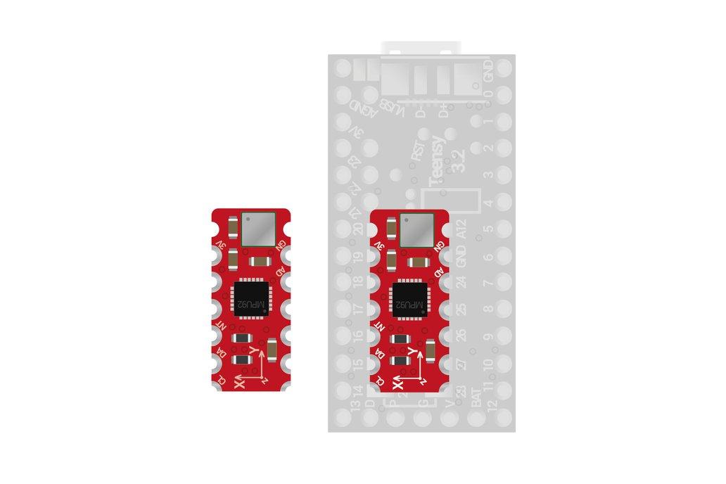 10DOF MPU9250+MS5637 sensor addon, Teensy 3.0-3.2 2