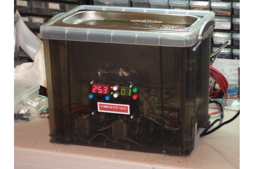 6 Quart 60kHz VIBRATO Ultrasonic Cleaner 1