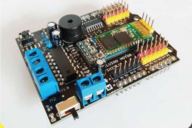 Bluino Motor Shield Arduino - SMARS robot