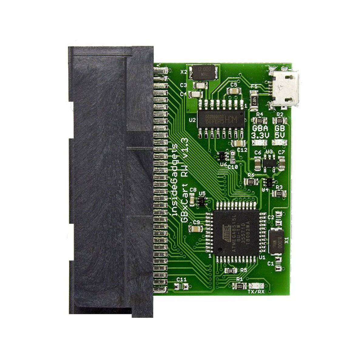 GBxCart RW (Gameboy/GBC/GBA Cart Reader/Writer) from insideGadgets