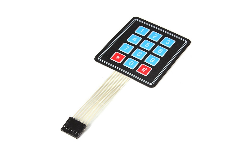 12 Key Array Membrane Keypad 1