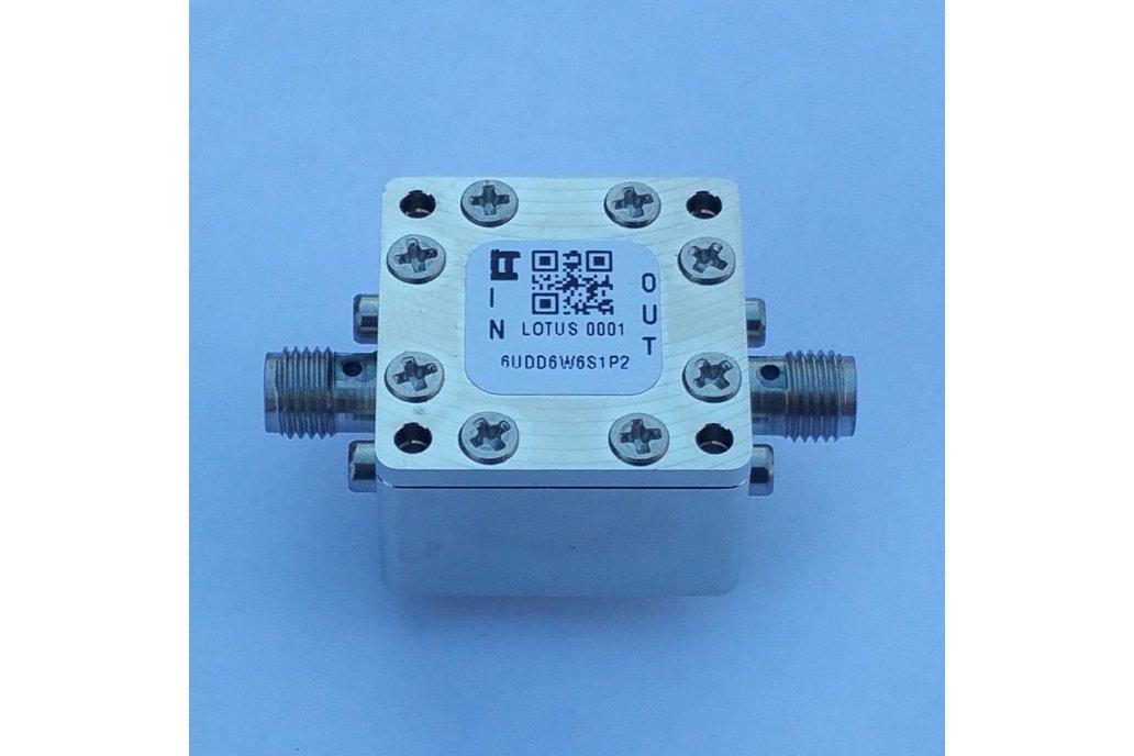 """Encl. Kit for 62mil/1.6mm PCB 9/16"""" Square (Pass.) 1"""