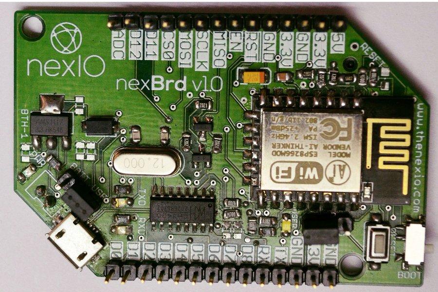 NexBrd ESP12E ESP8266 IOT Development Board