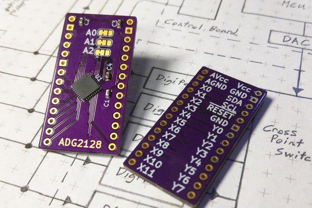 ADG2128 Breakout