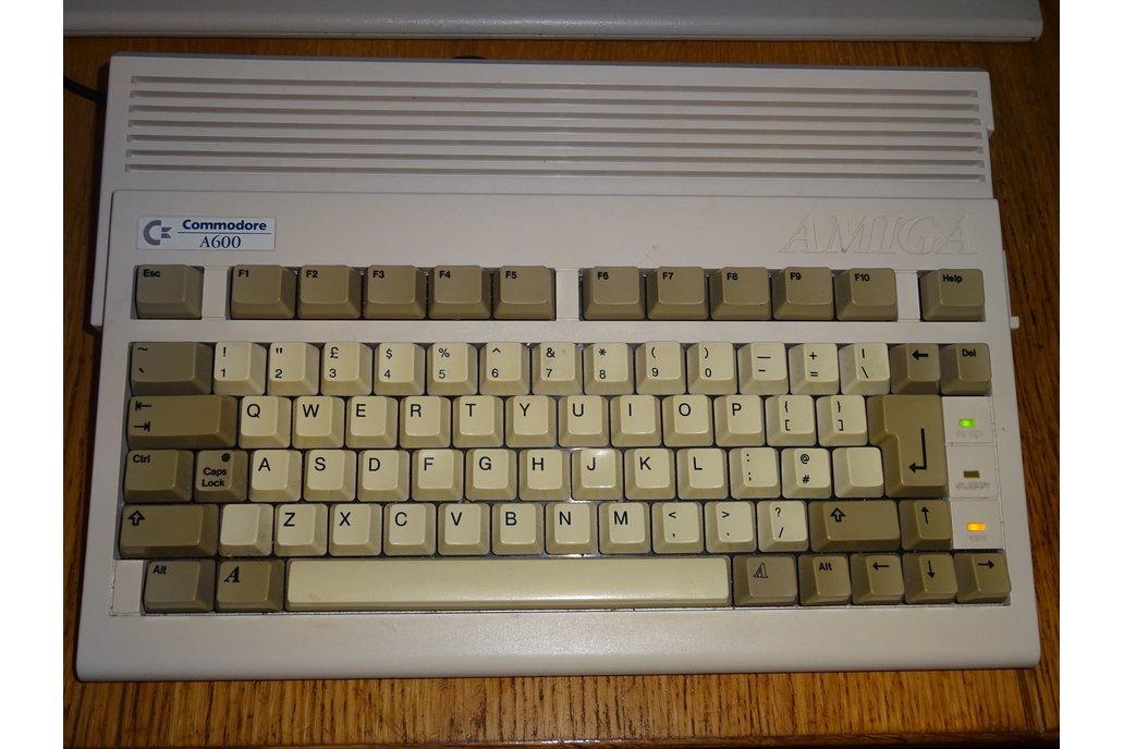 Amiga 600  / 1200 USB keyboard conversion kit 2