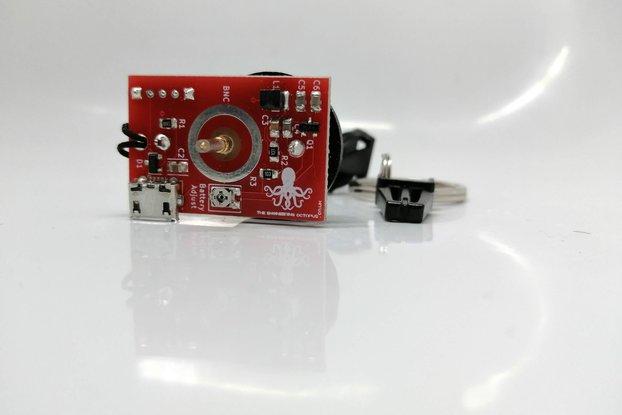 Oscilloscope Tester Keyring + battery