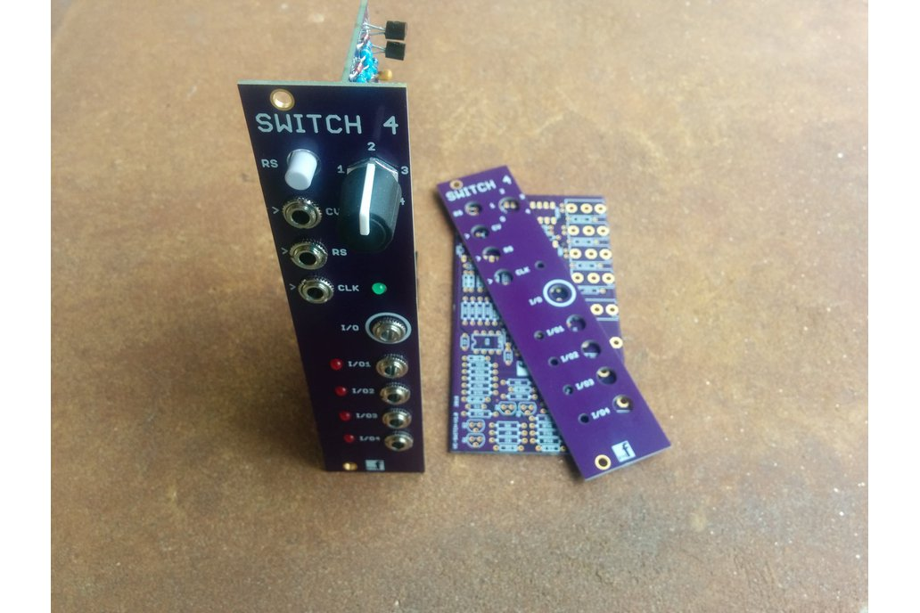 Voltage controlled sequential switch 2