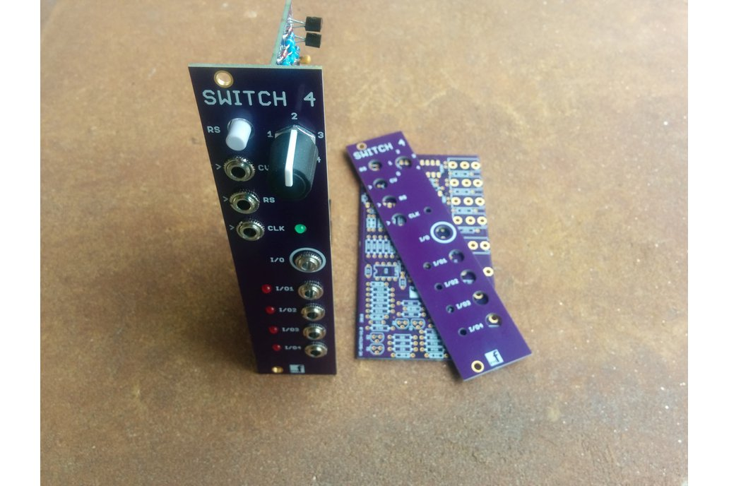 Voltage controlled sequential switch (PCB Set) 2