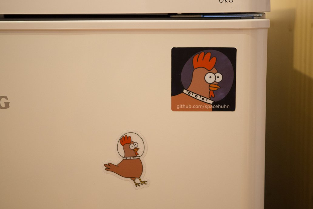 Spacehuhn Stickers 6