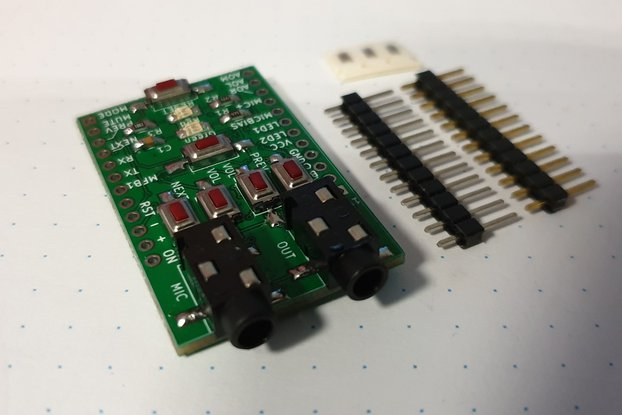 Breadboard adapter for XS3868