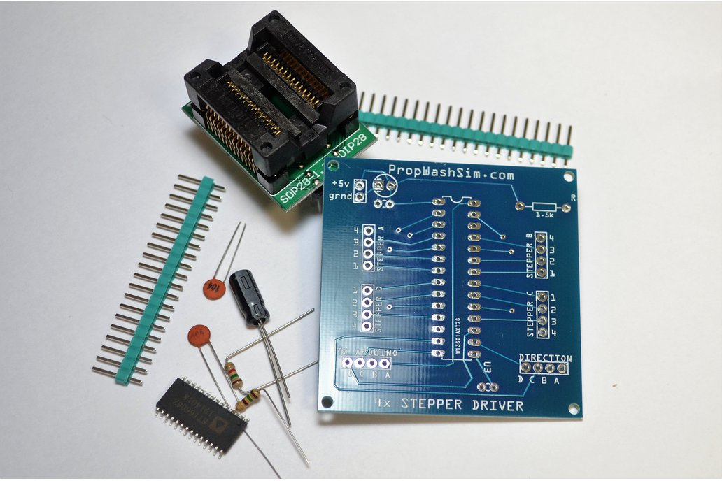 Vid6606 (STI6606) 4x Stepper Driver Board Kit 1
