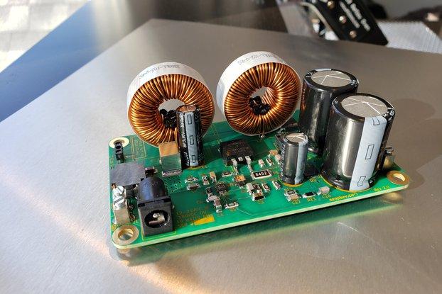 40 Watt High Voltage Nixie Power Supply