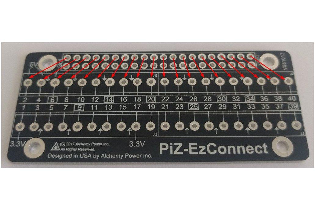 Pi-Zero-EzConnect KIT - Customize a GPIO connector 4