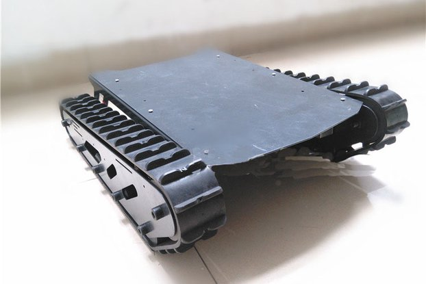 Heavy Duty Robot Tank Chassis CS900 Rubber Tracks