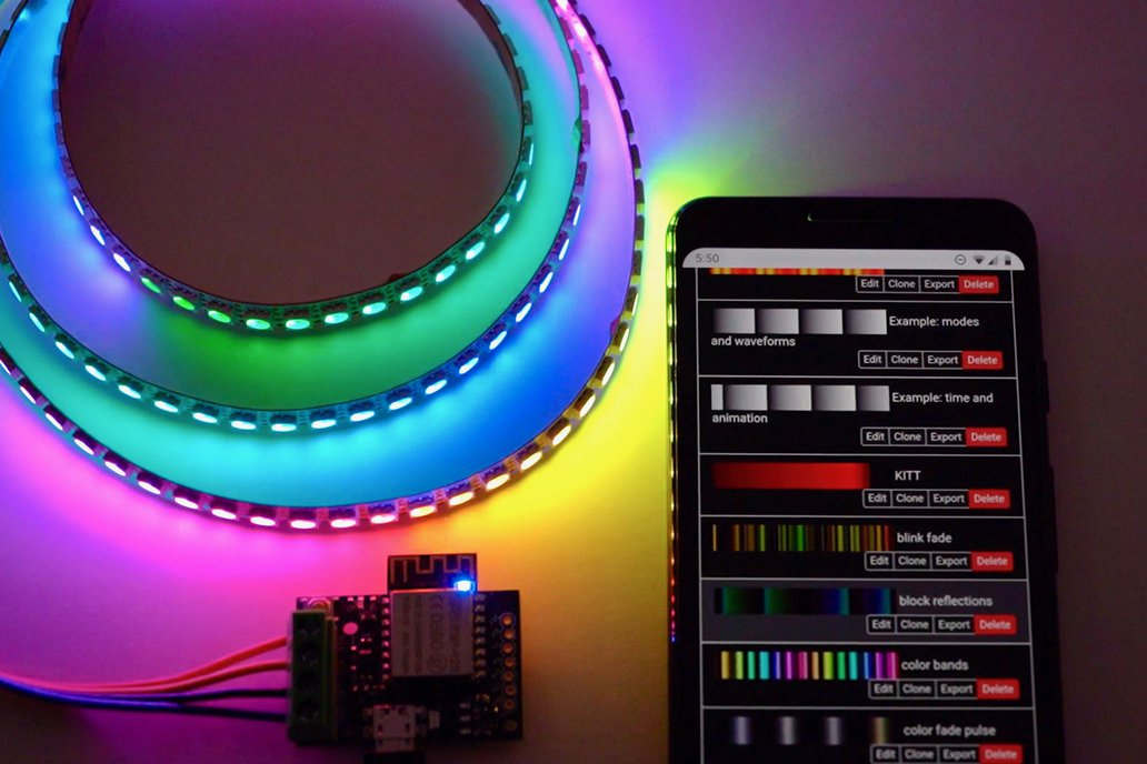 ElectroMage Pixelblaze V2+ WiFi LED Controller 1