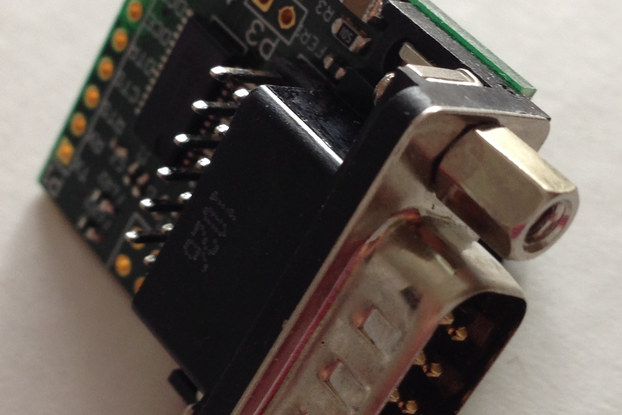 UART to RS-232 breakout up to 3 ports
