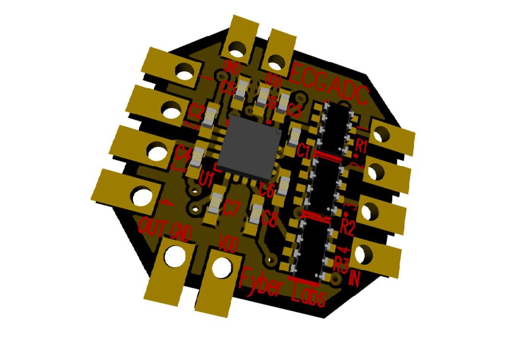 ECG ADC Flex Module 4