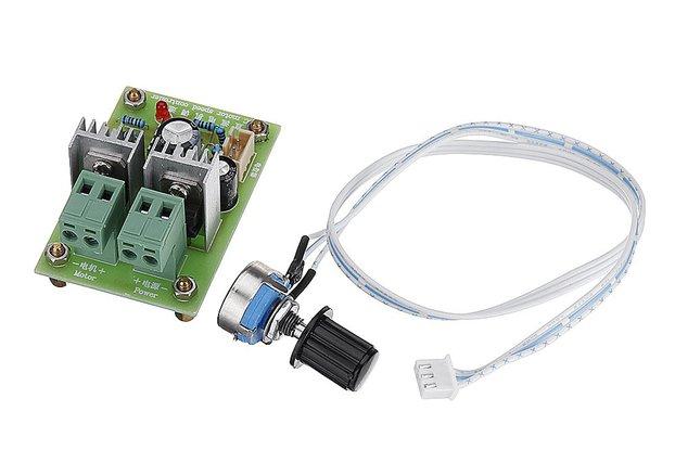 3pcs 12V-24V-36V 10A DC Motor Speed Control PWM