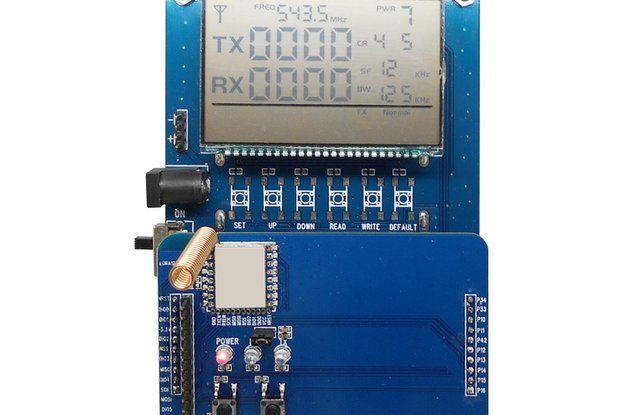 DEMO Board With LCD Display For  LoRa1276-C1