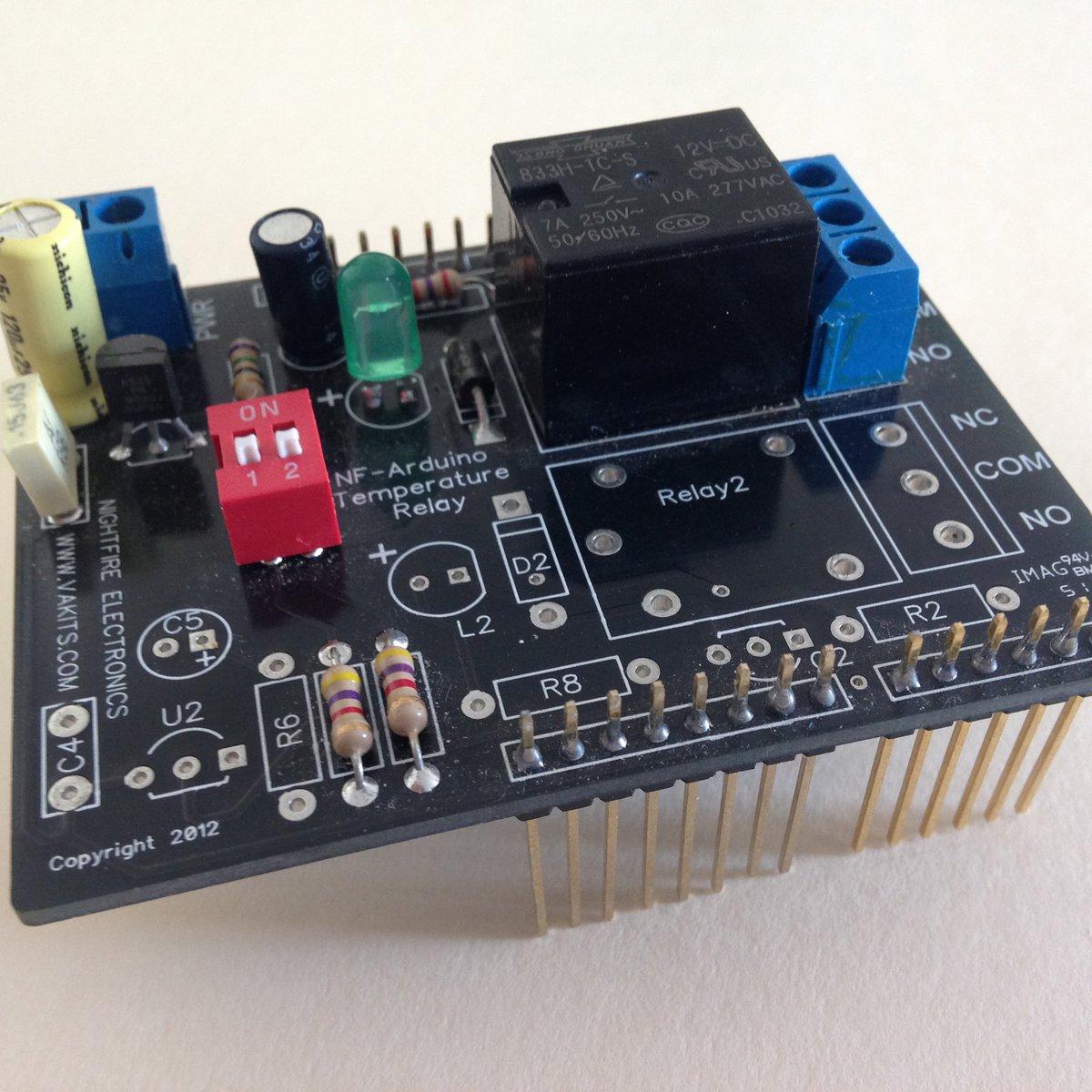 Arduino Multiple Sensors Shield Kit From Nightfire Electronics Llc Garage Door Type Switch O Newbies On Tindie