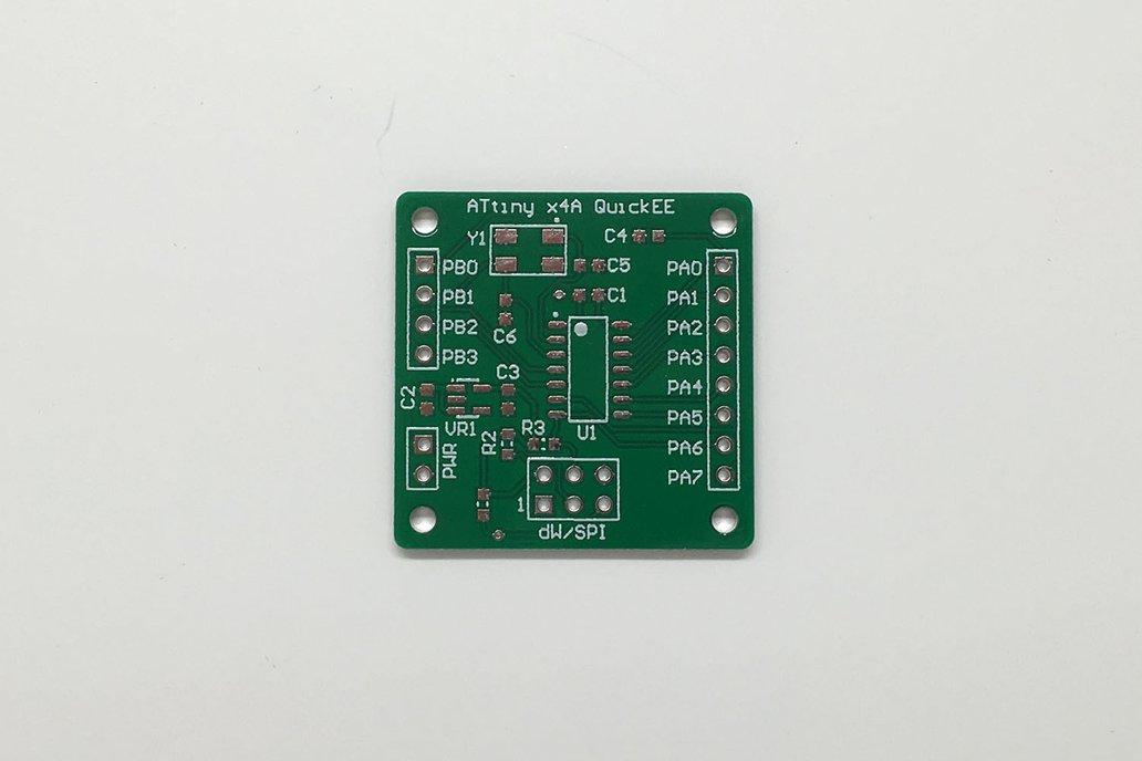 Atmel ATtiny x4A QuickEE Proto Board 2