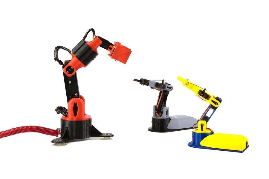 LittleArm Big: 3D Printed DIY Robot Kit