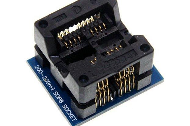 Double SOP8 to DIP16 Socket