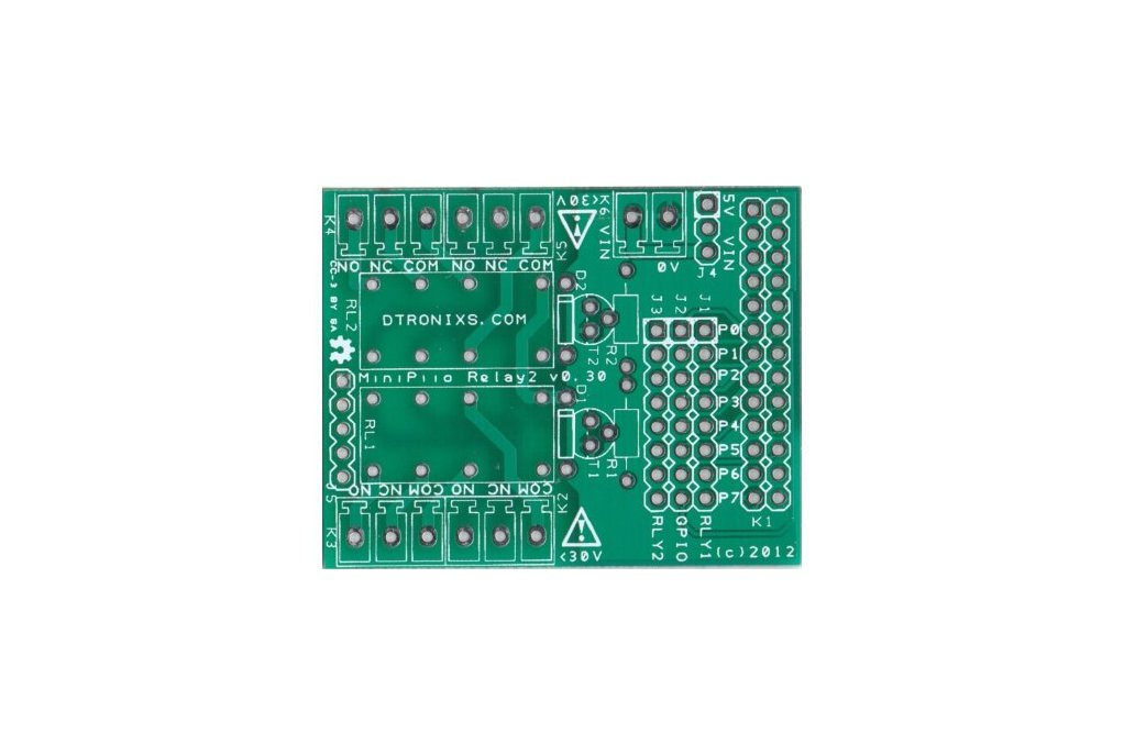 Raspberry PIIO - 2ch Relay board (PCB only) 1