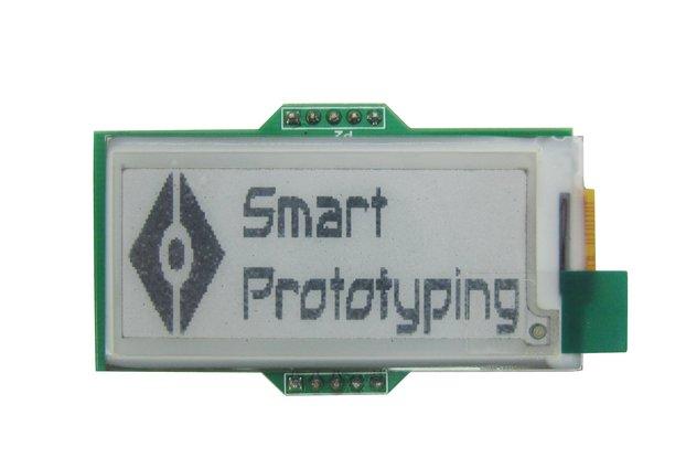 E-ink E-paper Display module 3.3V 2.04 inch 177x72