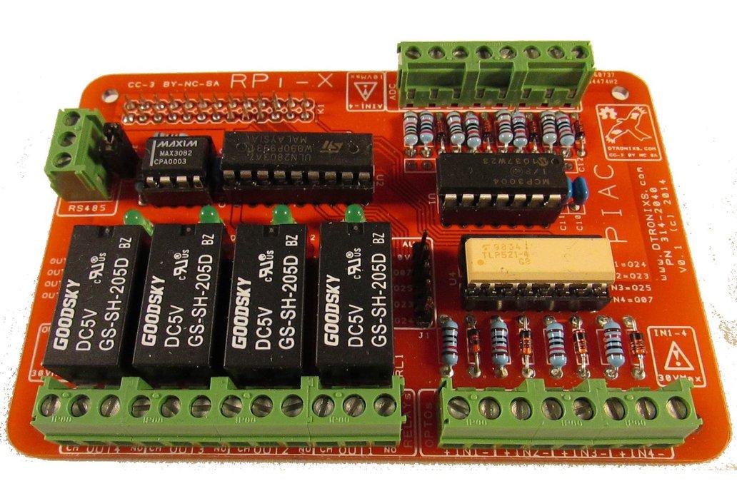 Raspbery Pi - RPI-X PIAC module 1
