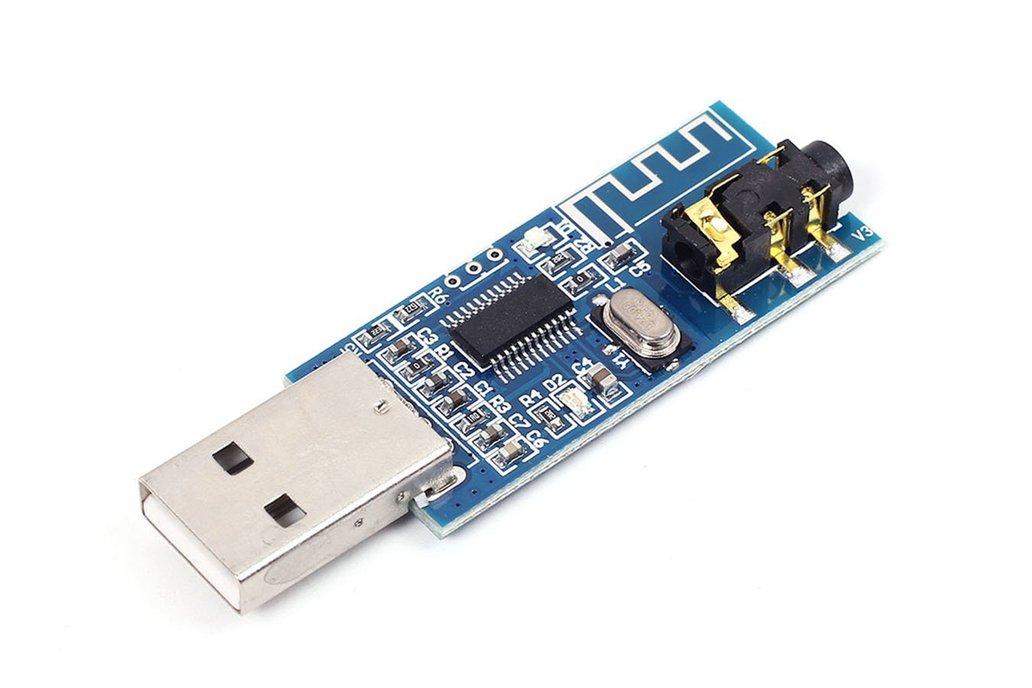 USB 5V Bluetooth 4.0 Audio Receiver Board (13224) 2