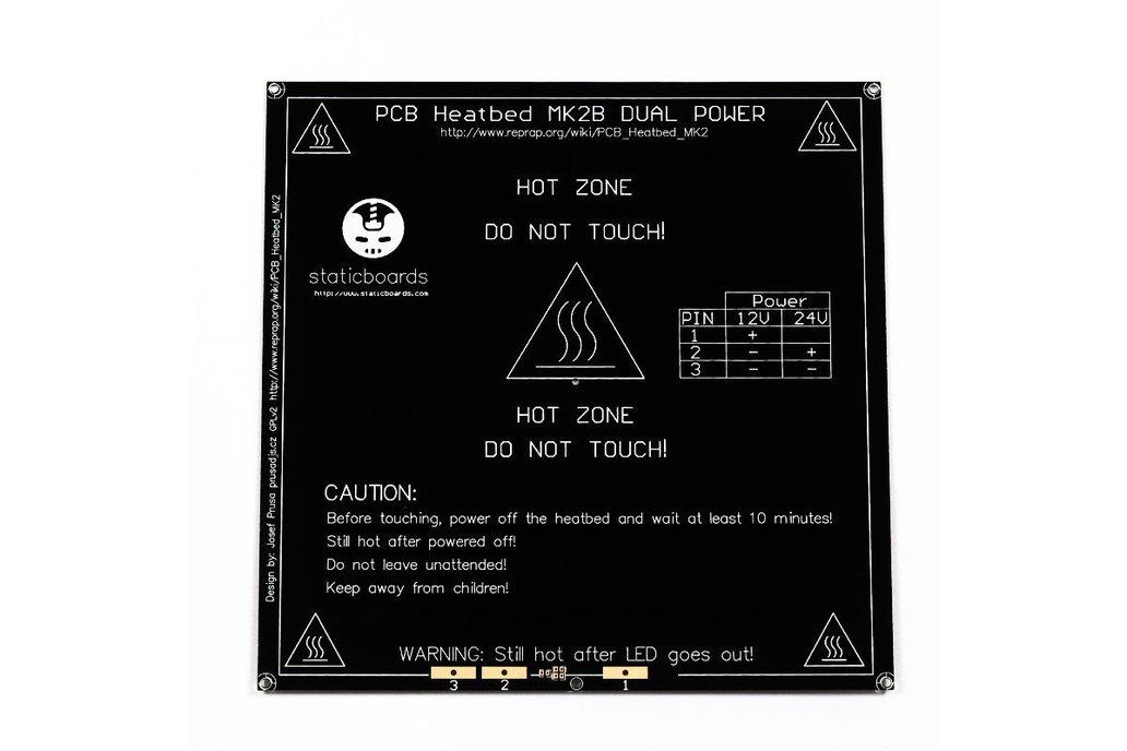 HeatBed MK2B Dual Power for 3D Printers 1