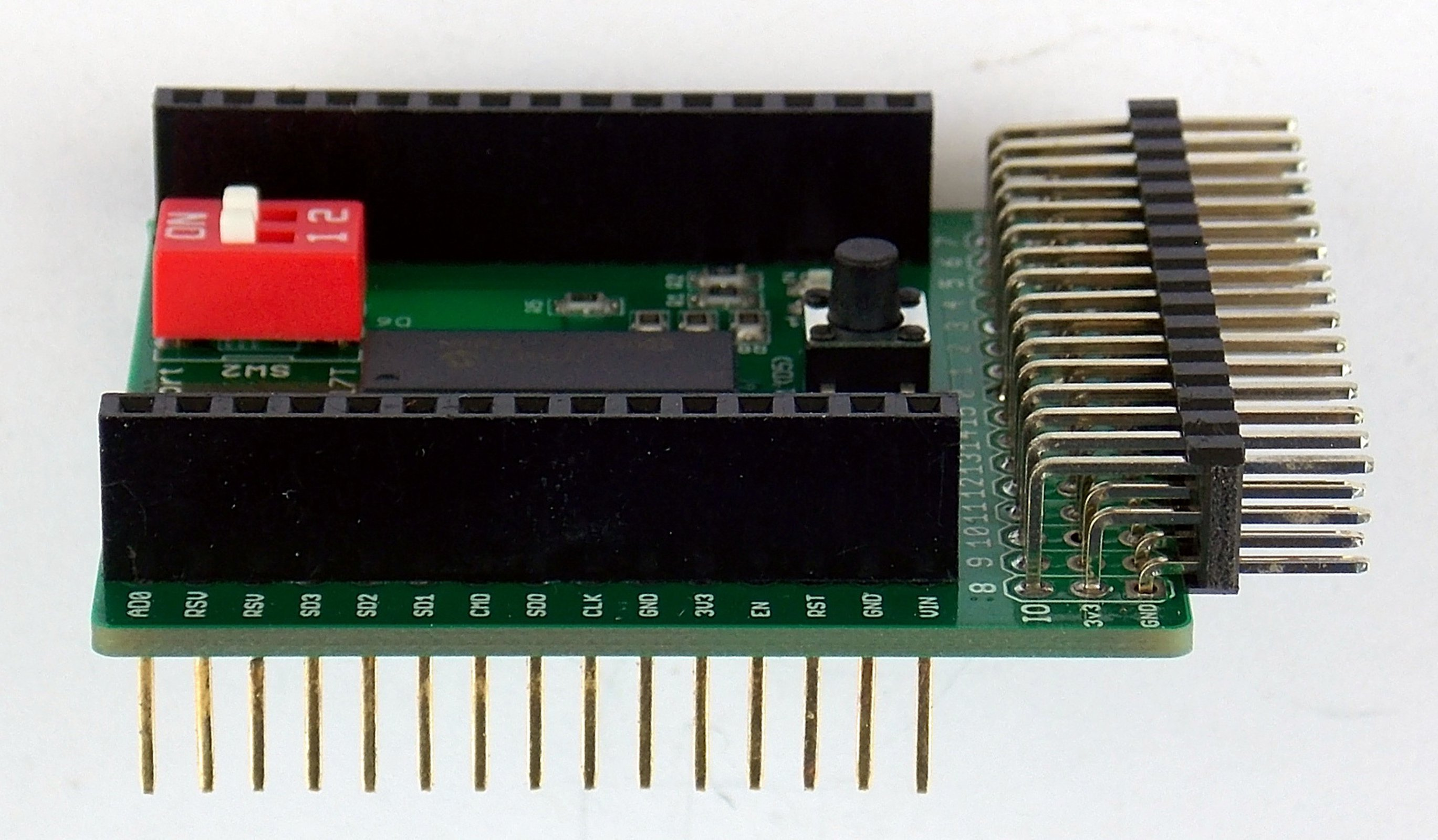 16 Port Io Expansion Shield For Wireless Dev Board From Burgessworld How To Make Custom Shields A Microcontroller 4