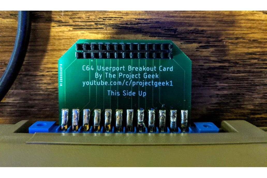 Commodore 64 User Port Breakout Board 1