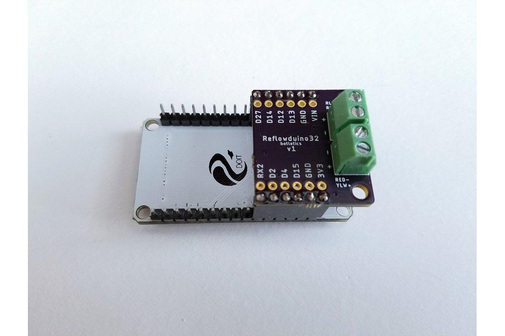 Reflowduino32 - ESP32 Reflow Control Backpack 1