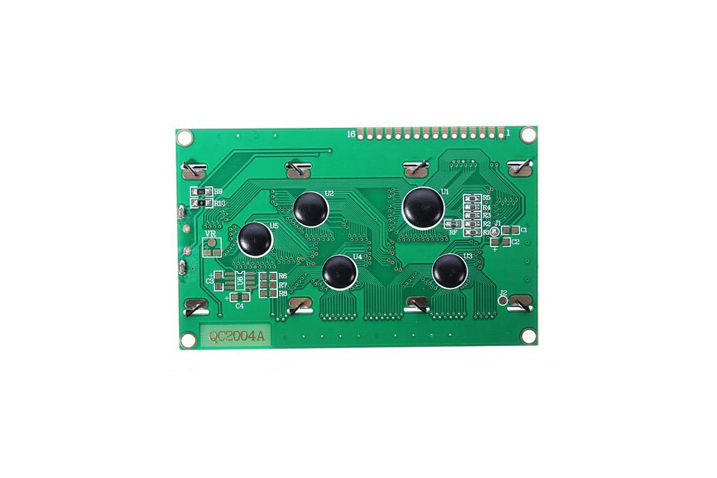 5V 2004 20X4 204 2004A LCD Display Module Blue Screen For Arduino 3