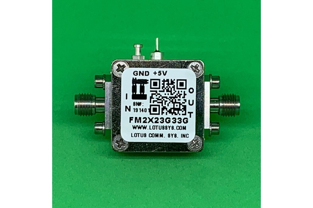 Active Freq. Multiplier X2 (OUTPUT 23G to 33 GHz) 1