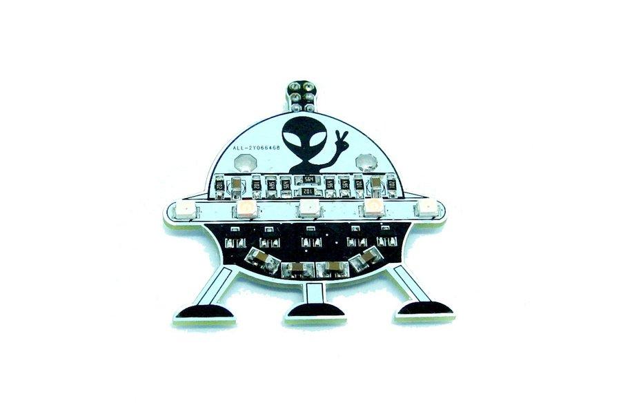 UFO Alien - LED learn to solder kit