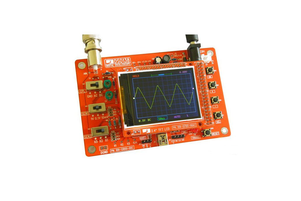 DIY Digital Oscilloscope Kit 3
