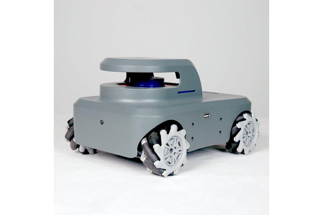 myAGV- Highly-Mobile Raspberry Pi-Based Vehicle 1