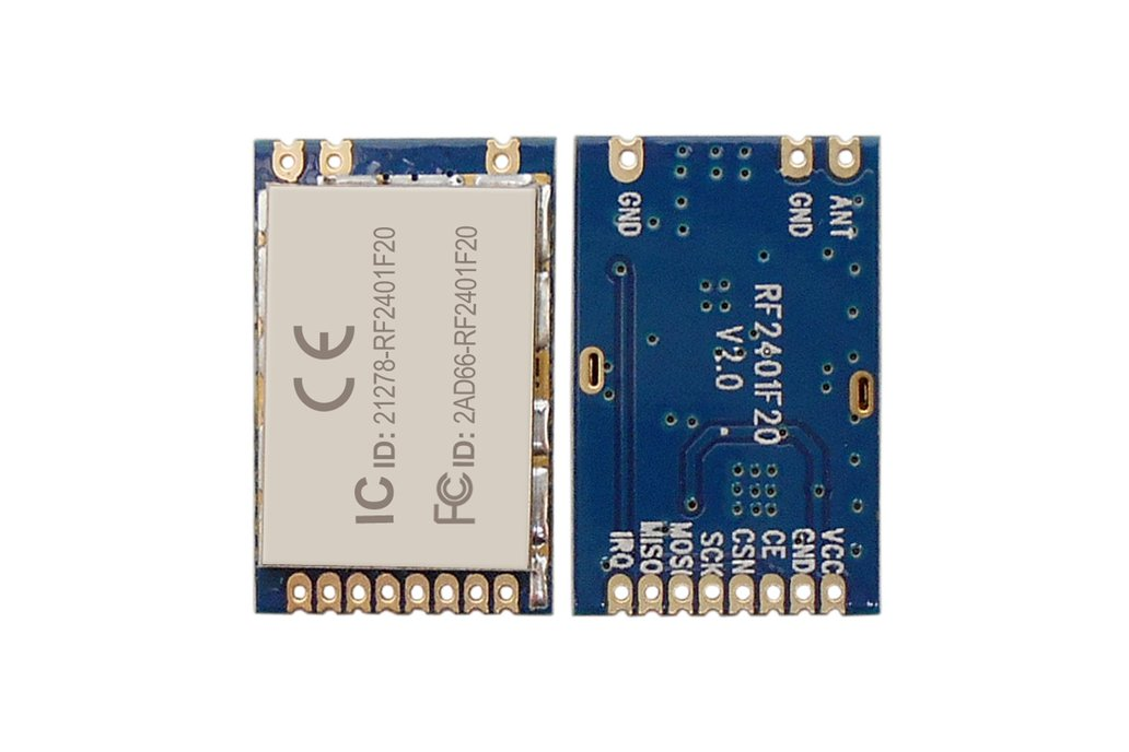 2pcs RF2401F20 2.4G Wireless Transceiver Module  4