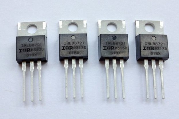 4x IRLB8721 MOSFETs